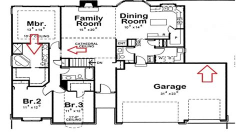 bath house floor plans 4 bedroom 3 bath house plans residential house plans 4