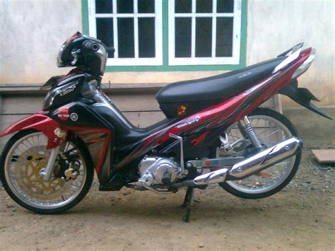 Modif Motor Jupiter Z by Top Modifikasi Motor Jupiter Z Terbaru Modifikasi Motor