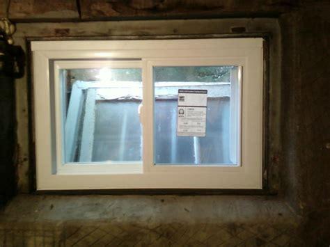 Install Basement Window How To Install Basement Windows