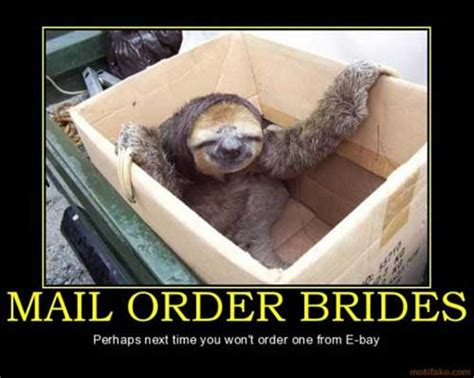 Mail Order Bride Meme - funny anti motivational posters memes