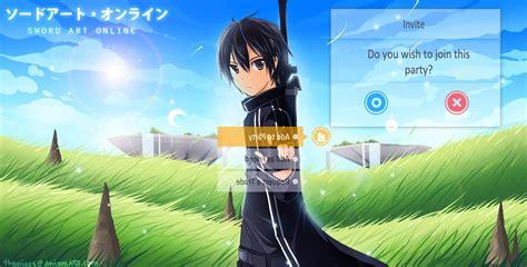 sword art  kirigaya kazuto anime wallpapers hd