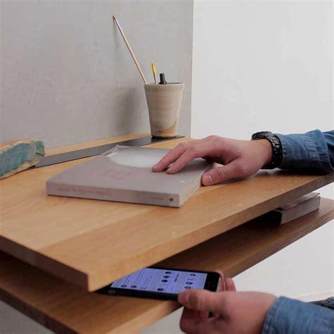 bureau mural design pi16 treteau metal pour bureau deux niveaux mural