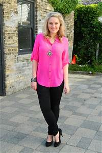Hot Pink Neon Madewell Blouses Black Madewell Jeans