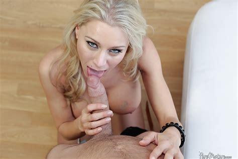 Busty Blonde Milf Katie Morgan Taking Facial Cumshot After