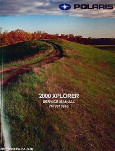 2000 Polaris Xplorer 250 400 Atv Service Manual