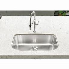 B441586 One Stainless Steel Undermount  Single Bowl