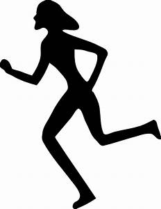 Woman Running Clip Art at Clker.com - vector clip art ...
