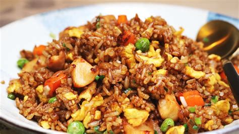 better than takeout and easy chicken fried rice recipe youtube