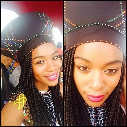 Traditional Wear Nomzamo Mbatha Zulu Xhosa Headgear