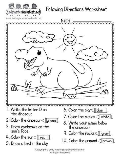 worksheet  kindergarten kidworksheet