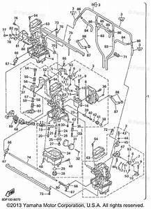 Yamaha Snowmobile 1999 Oem Parts Diagram For Carburetor