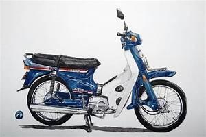 Honda Astrea Star Biru  Bebek Retro Yang Jadi Incaran