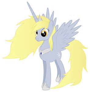 Derpy Hooves as a Princess