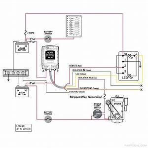 Blue Sea Battery Isolator Wiring Diagram