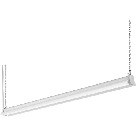workshop lights home depot lithonia lighting 2 8 ft 34 watt white integrated led