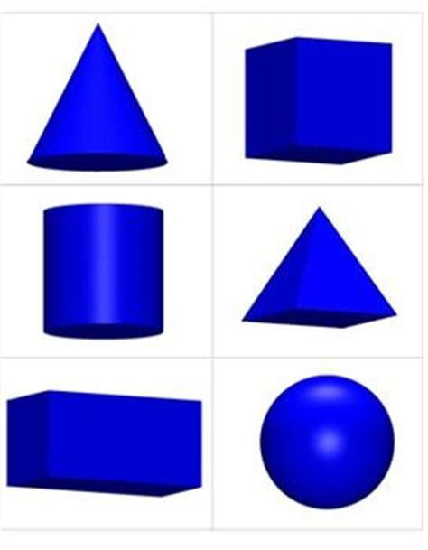 17+ Best Images About 3 Dimensional Shape Activities On