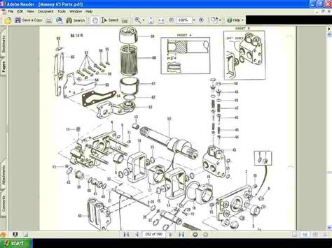 massey ferguson 165 parts diagram automotive parts