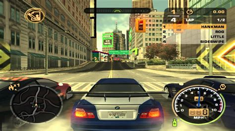 Need For Speed Most Wanted Ps2 Gameplay Walkthrough