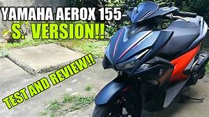 Yamaha Mio Aerox-s 155 2018 Close Review