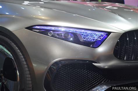 Gallery Mercedes Benz Concept A Sedan Up Close Image 649303