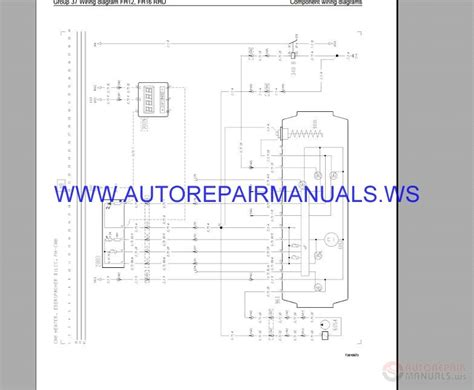 volvo fh12 rhd trucks wiring diagram service manual auto