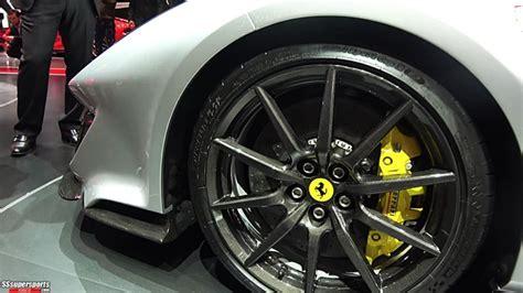 8 Silver 2019 Ferrari 488 Pista At 2018 Geneva Motor Show
