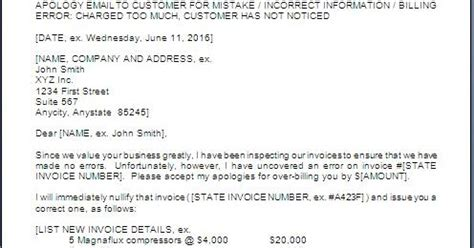 Wrong Phone Number On Resume by Apology Letter To Customer For Wrong Billing