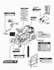 Snapper Riding Mower Parts Diagram