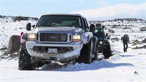 awesome  road  trucks  iceland hd youtube