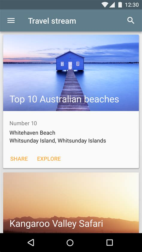 Android  How To Apply Aspect Ratio From Material Design