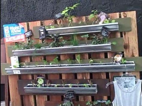 Gutter Vertical Garden by Vertical Gardening In Gutters So You Can Grow Food