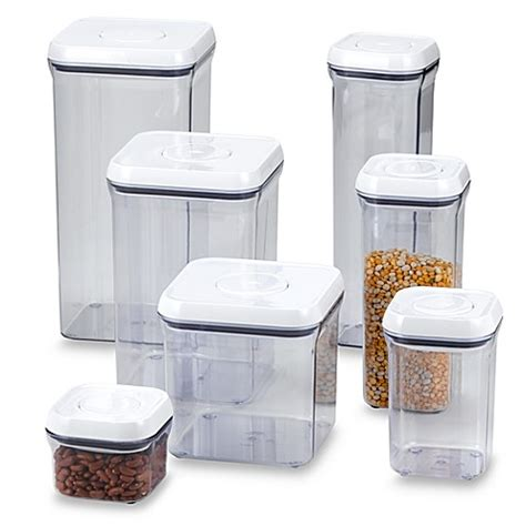 kitchen storage bin oxo grips 174 square food storage pop container bed 3122