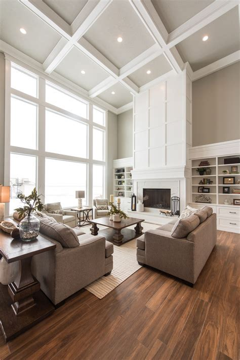 Ten  Ee  Ideas Ee   Of Stylish Transitional Living Room Decohoms
