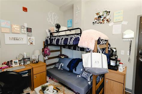 wade hampton  womens quad housing university