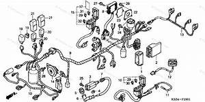 Honda Scooter 2004 Oem Parts Diagram For Wire Harness  Abs
