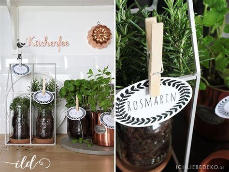 Kräutergarten Küche Diy by Diy Kr 228 Utergarten F 252 R Die K 252 Che Ich Liebe Deko