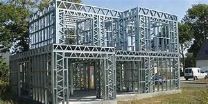 Maison Structure Métallique : clohars carnoet maison ossature metallique bretagne ~ Melissatoandfro.com Idées de Décoration