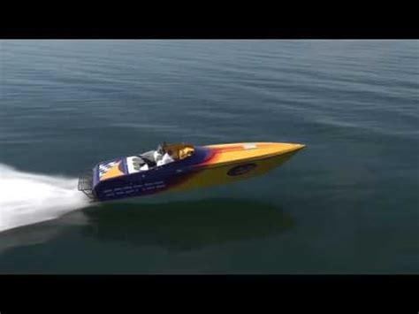 Cigarette Boat Lego by Cigarette Offshore Power Boat Racing