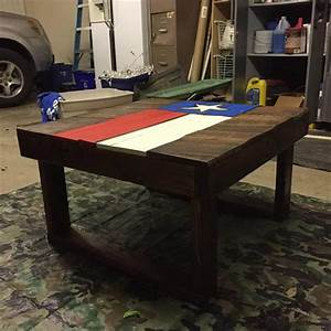 diy pallet wood texas flag coffee table pallet furniture diy With homemade furniture texas