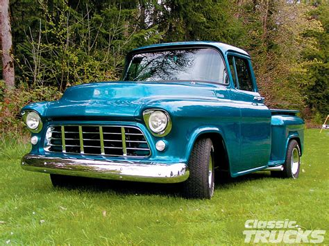 old chevy cars and trucks of old new school pickups