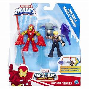 Marvel Super Hero Adventures Power Up Wave 3 Set of 4 Two ...