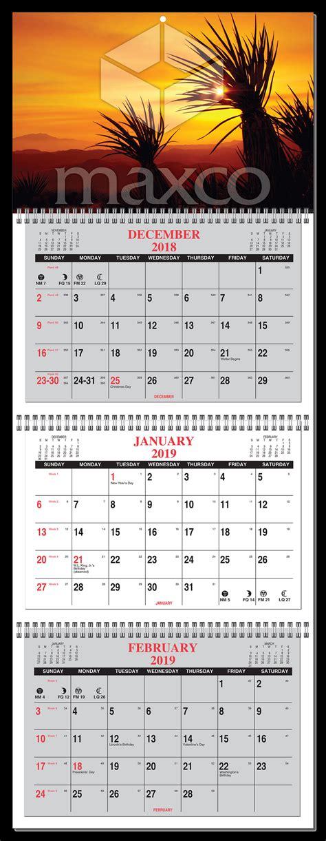 month calendar   glance  panel  numbered