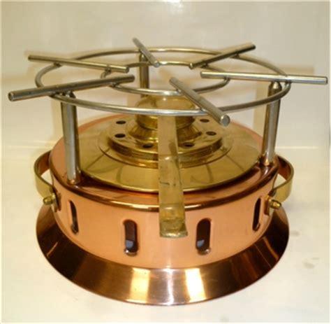 copper rechaud heater  burner creative cookware