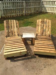 diy pallet outdoor lounge chair poolside chair pallet furniture diy