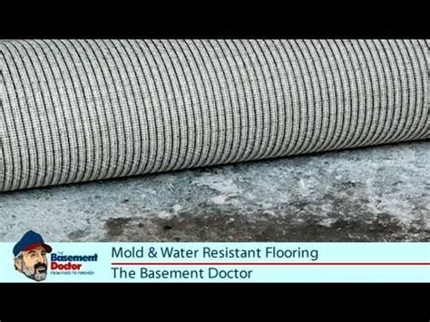 Safe Basement Flooring   Water & Mold Resistant   Rubber