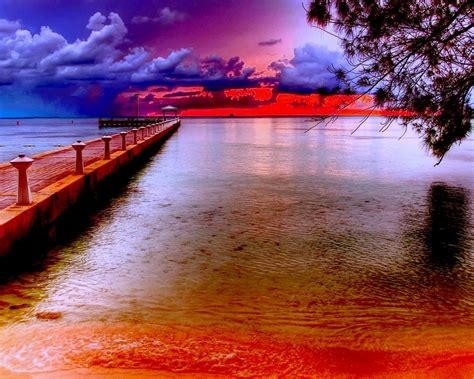 Sunset Beautiful Horizon Wallpaper 244230 : Wallpapers13.com