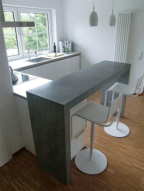 Küche Mit Theke Ideen quot k 252 chen theke quot beton j 246 rg sander planc w und essen