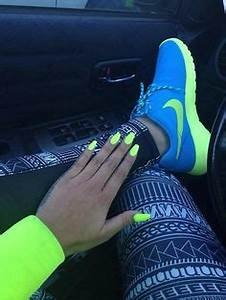 1000 ideas about Neon Nike Shoes on Pinterest