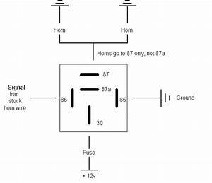 Fiamm Relay Wiring Diagram - Subaru Outback