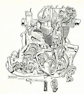 Triumph 650 Cutaway